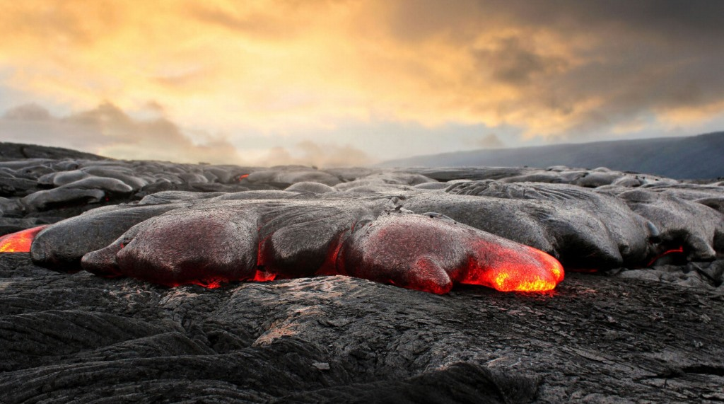 magma and the lava