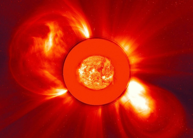 First recorded coronal mass ejection from a distant star